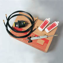HYCO-I INBOARD HYDRAULIC STEERING KIT WITH 7.50M HOSES