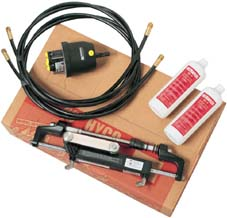 HYCO-OBF/1 OUTBOARD HYDRAULIC STEERING KIT WITH 6.50M HOSES