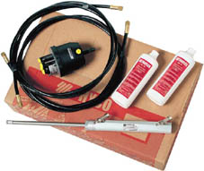 HYCO-OBS OUTBOARD HYDRAULIC STEERING KIT WITH 6.00M HOSES