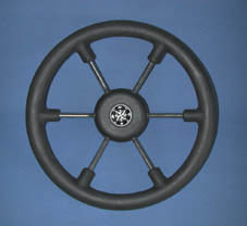 STEERING WHEEL CONSUL BLACK GRIP 400mm
