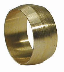 BRASS COMPRESSION RINGS 1/4