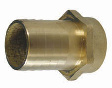 BRASS HOSE CONNECTOR 3/8
